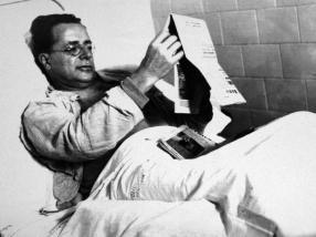 Settanta 70 1948 Palmiro Togliatti in ospedale dopo attentato del 14 luglio