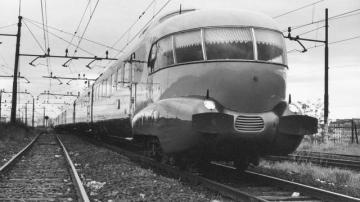 Settanta 70 1952 Il Settebello in servizio fra Roma e Milano