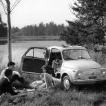 Settanta 70 1957 - La presentazione della Fiat 500