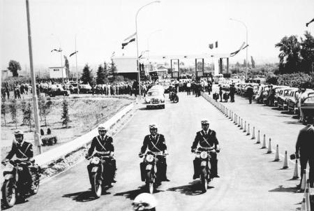Settanta 70 1964 Inaugurata autostrada del sole