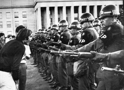 Settanta 70 1965 Manifestazioni in America contro la guerra in Vietnam