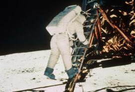 Settanta 70 1969 Armstron sulla luna