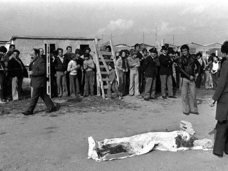 Settanta 70 1975 Pier Paolo Pasolini ucciso all'idroscalo di Ostia