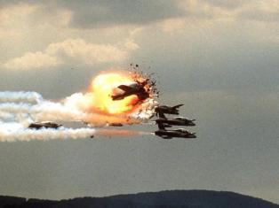 Settanta 70 1988 La tragedia delle Frecce Tricolori a Ramstein GERMANY - AIR SHOW DESASTER ANNIVERSARY/FILES
