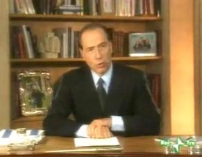 Settanta 70 1994 Berlusconi scende in campo BERLUSCONI: LA STORIA POLITICA NEI MESSAGGI ALLA TV / SPECIA