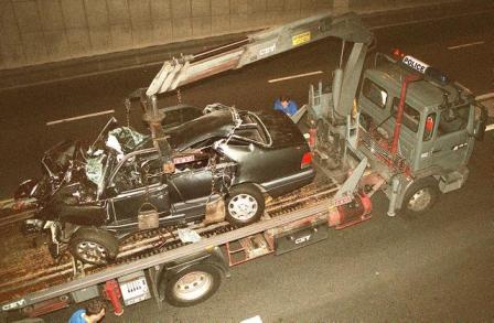 Settanta 70 1997 Muore Lady Diana DIANA-CAR WRECKAGE